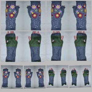 NEW 8 SETS Handwarmers gloves fingeless mittens